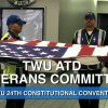 TWU 24TH CONVENTION: VETERANS COMMITTEE